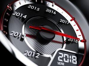 2018 Speedometer